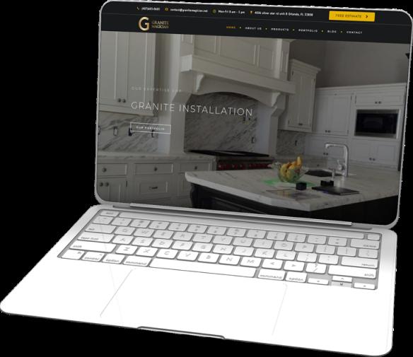 Сайт для Granite Magician